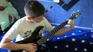 """Тема из игры """"Сталкер"""" на гитаре."""