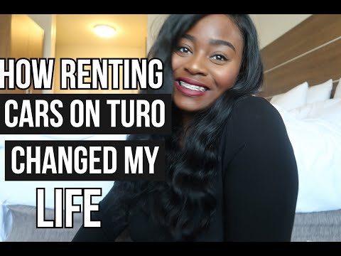 How Renting Cars On The Turo App Changed My Life - My First Business As A Millennial Entrepreneur
