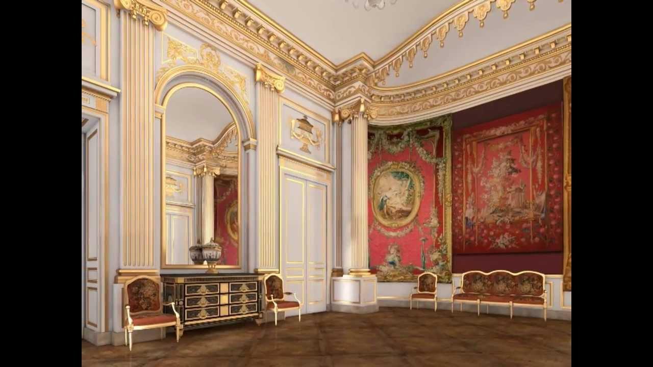 La chambre du duc de chevreuse au louvre un m c nat de for La chambre de lea