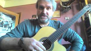 Guitar with Mike Reeman - 8,4,2,1 finger warm up exercise part 2