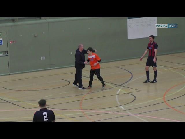 29f685a229 VIDEO  Goalkeeper scores wonder goal from own box in Dundee futsal league -  Evening Telegraph