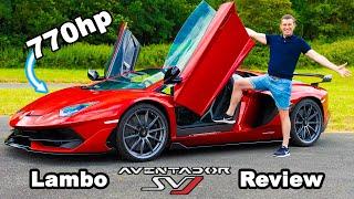 Lamborghini Aventador SVJ review - 0-60mph, 1/4-mile \u0026 brake test!
