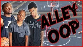 nba 2k16 mypark gameplay ft trent most disrepectful alley oop ever