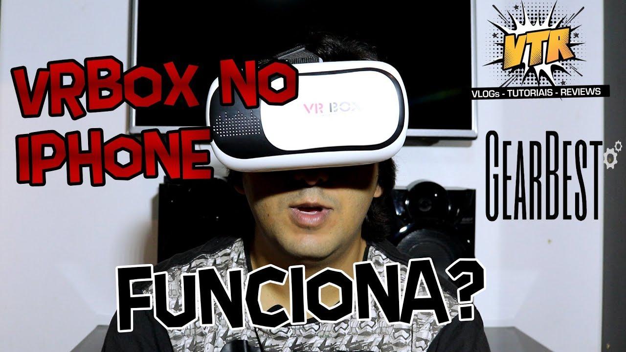 Óculos de Realidade Virtual VR BOX - Gearbest