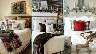 ❤ DIY Shabby chic style Rustic Christmas Guest Bedroom decor Ideas ❤ |Home decor| Flamingo Mango|