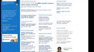 Web Historiography - www.unicef.org