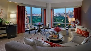 Central Park View Suite @ Mandarin Oriental, New York City