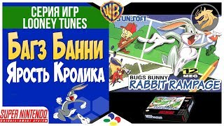 Bugs Bunny: Rabbit Rampage / Багз Банни: Ярость Кролика   SNES 16-bit   Super Nintendo   Прохождение