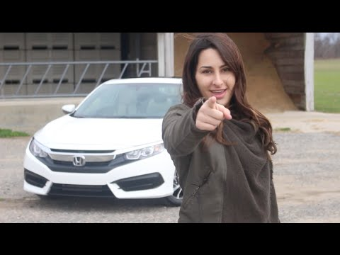 2016 Honda Civic Lx P Coupe Review And Test Drive Herb Chambers