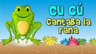 cu cu cantaba la rana (canción infantil) thumbnail