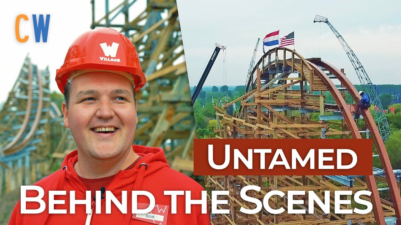 Les Coulisses de Untamed à Walibi Holland !