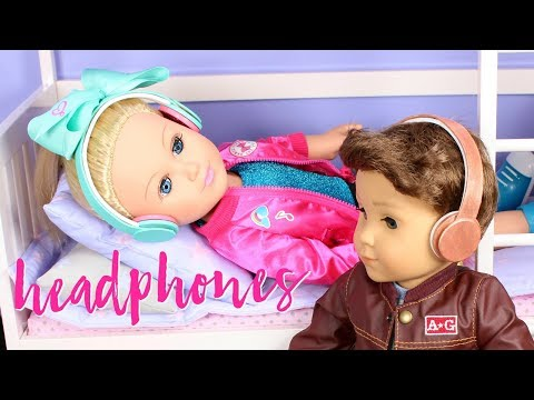 DIY American Girl Beats Headphones for Dolls