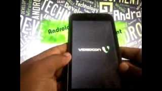 how to hard reset videocon a45 using recovery mod