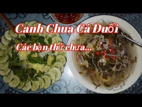 Canh Chua Cá Đuối Món Ngon Dể Nấu #150