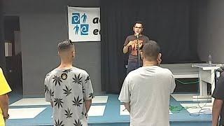 Aula De Canto Com Prof Kavera Aqui Na Liga Do Funk #5live