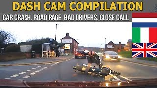 Dash Cam Compilation  (Great Britain, Italy, The Netherlands) 2017 - 2018 #21