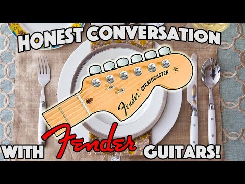 THE FOUR FOOD GROUPS of FENDER GUITARS!