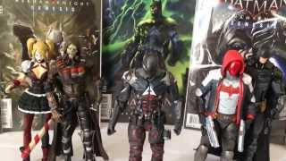 DC Collectibles Batman Arkham Knight Arkham Knight Red Hood Jason Todd figure review