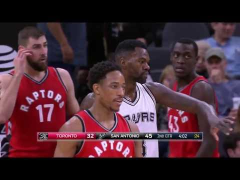 NBA 16-17 - 03-01 SAN ANTONIO SPURS VS TORONTO RAPTORS 2PTE