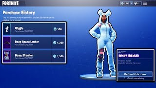 HOW TO REFUND SKINS IN FORTNITE! SELL FREE SKINS FOR FREE V-BUCKS! FORTNITE BATTLE ROYALE!