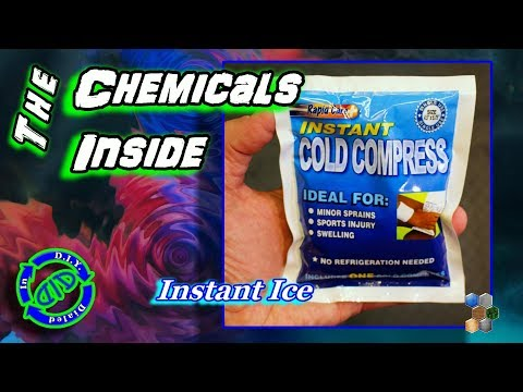 Instant Cold Pack - The Chemicals Inside - Product Breakdown