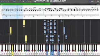 How to Play - Olly Murs - Army of Two - Piano Tutorial with Sheet Music