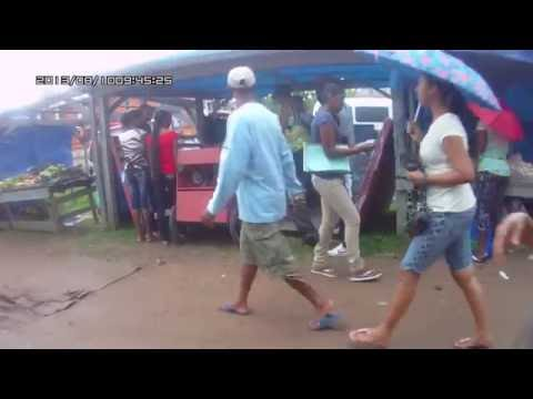 Guyana, Yellow Gillbaka and Roast Duck at Leonora Market (HD)