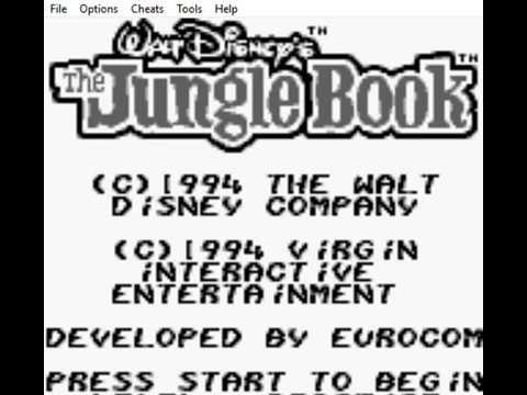 The Jungle Book (Game Boy) Walkthrough Part 1 - No Death