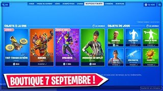 FORTNITE BOUTIQUE of SEPTEMBER 7, 2019! NEW HARDENED CLIMBER SKIN!