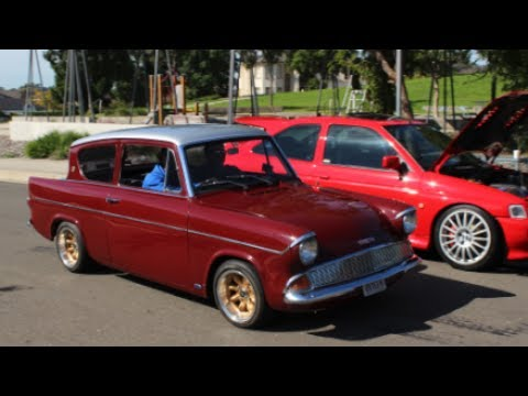 Ford heaven part 1!  1961 Ford Anglia Grass Roots Garage