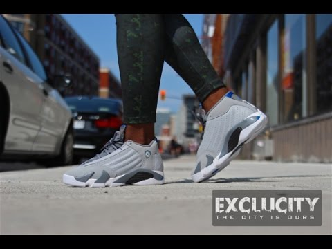 buy popular e86d2 e9f1f ... feet video exclucity 303d1 23b8b  ireland unboxing air jordan xiv 14  retro wolf grey more august 2 2014 release 1080p youtube
