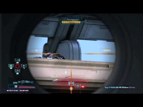 Mass Effect 3 Multiplayer (Silver) Gameplay 84 HD