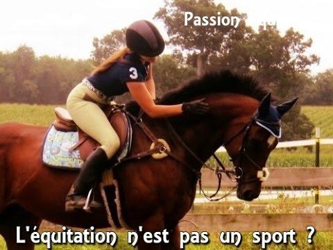 L'équitation N'est Pas Un Sport ? - Passion Equitation