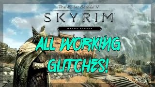 Skyrim Remastered: all unpatched glitches!(unlimited gold, Do not delete chest, hidden chests)