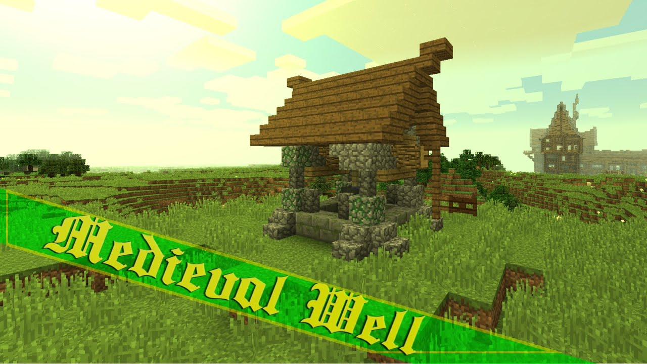 Minecraft How To Build A Well Tutorial