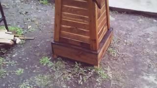 видео Декоративная мельница своими руками: чертежи, инструкция