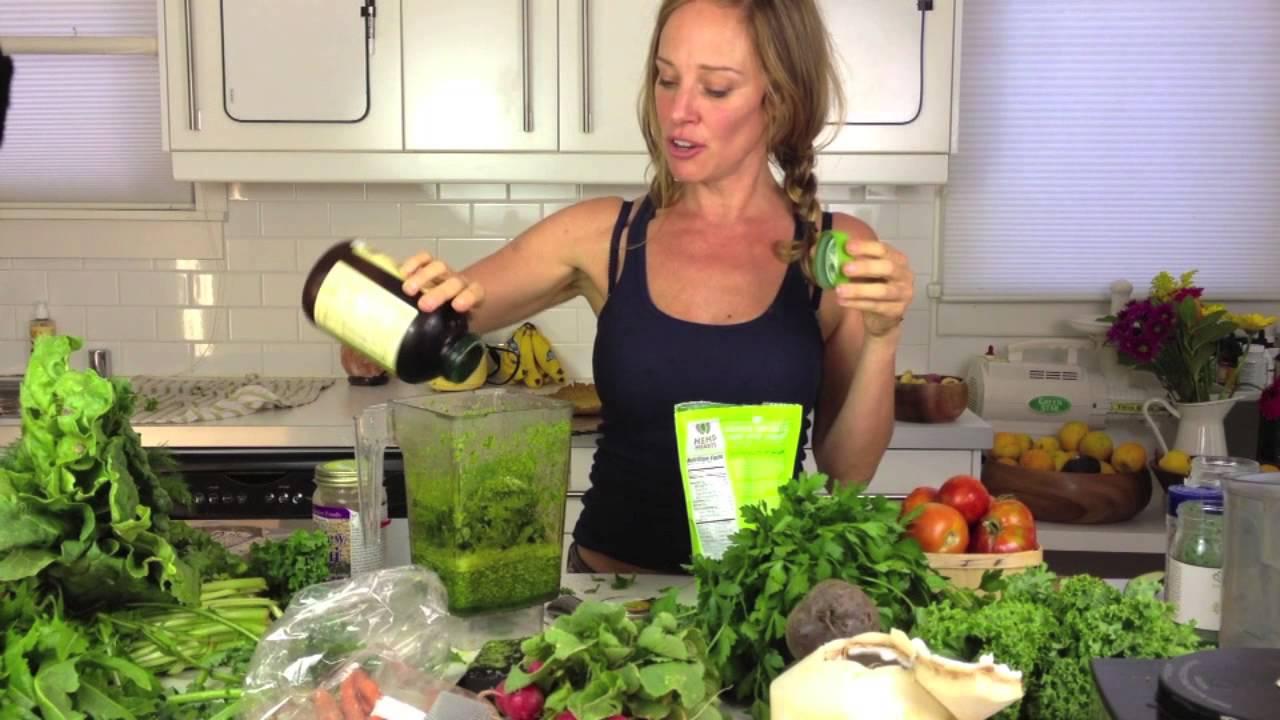 Raw creamy kale soup dara dubinet youtube forumfinder Choice Image