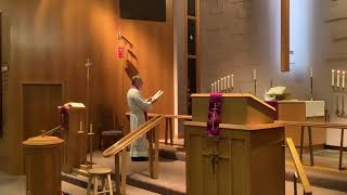 Ash Wednesday, Good Shepherd Lutheran Church, LC-MS, Two Rivers, WI, Rev William Kilps