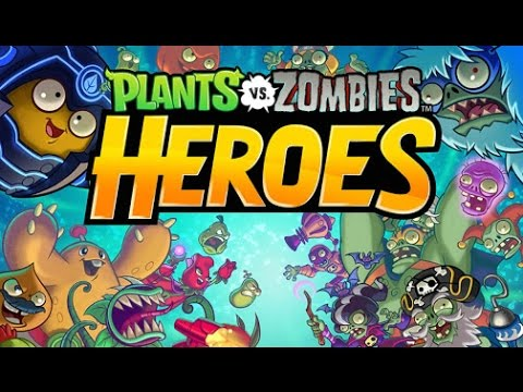 Gratis Plants Vs Zombies Heroes Apk Android Gameplay Juegos