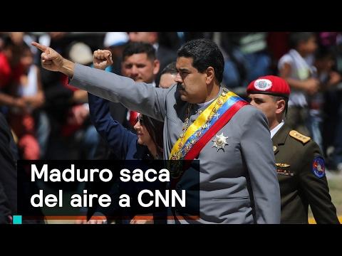 Maduro saca del aire a CNN en Venezuela - Despierta con Loret