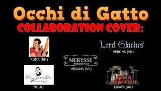 OCCHI DI GATTO sigla - collaboration cover
