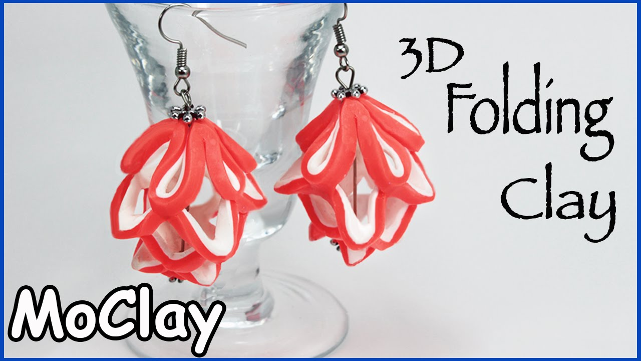 3D Structure Earrings