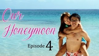 Our Honeymoon Adventure ♥ Episode 4 SWIMMING WITH SHARKS