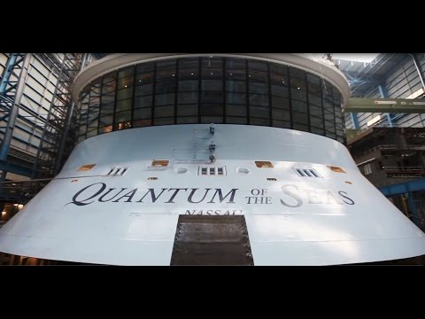 Quantum of the Seas Technology Shipyard Reveal - CruiseGuy.com