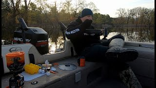 Catch and Cook Fresнwater Drum | Boat Camping on the Mississippi River