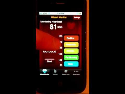 c2aba6f3998 60beat blue heart rate - YouTube