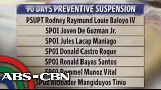 14 Pampanga cops suspended for