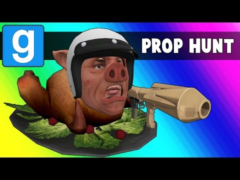 Thumbnail: Gmod Prop Hunt Funny Moments - MC Wildcat! (Garry's Mod)