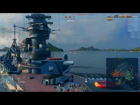 Gamescon winner: The story of 3274 base XP with Chapayev... - World of Warship