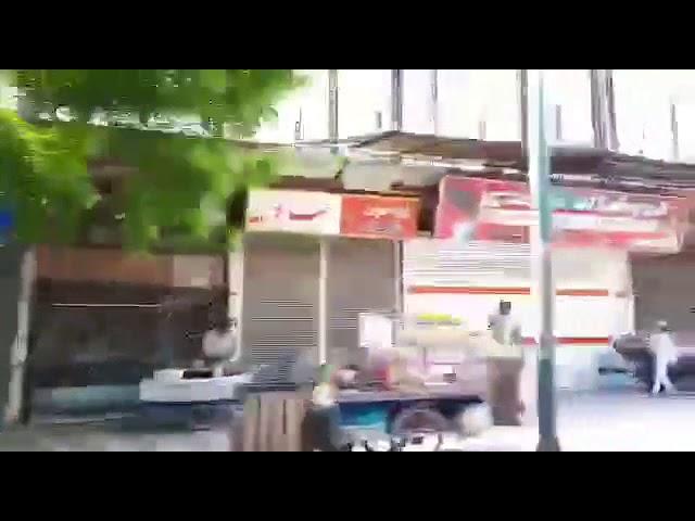 Marivan - 22 avril la grève générale des commerçants au Kurdistan d'Iran continue